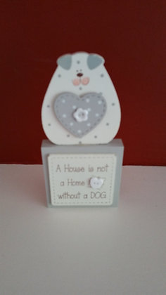 A House is not a Home ... dog block