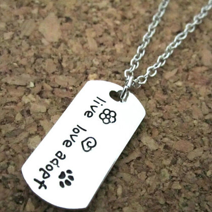Hearts and Paws Rescue Dog Tag
