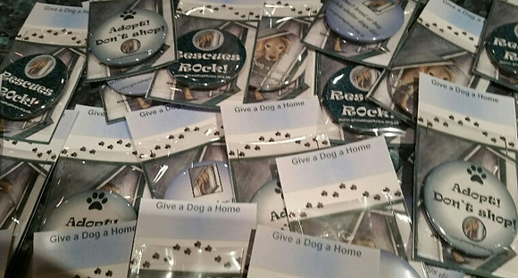 Give a Dog a Home Badges