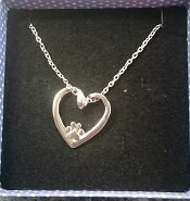 Hearts and Paws Heart Necklace