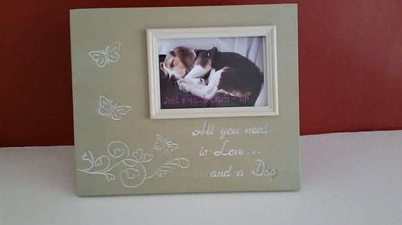 Dog Lovers Photo Frame