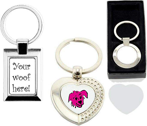 Your Woof! Keyrings