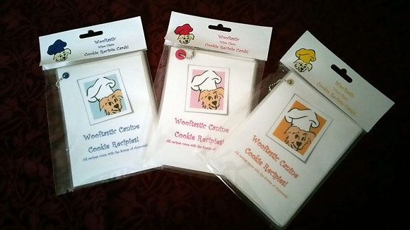 Wooftastic Canine Cookie Recipie Cards