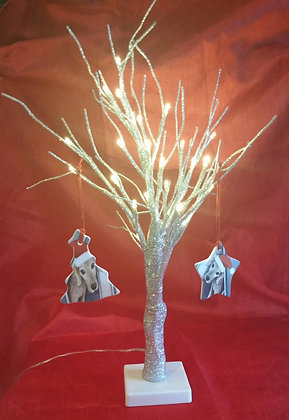 Give a Dog a Home Ceramic Christmas Tree Decorations