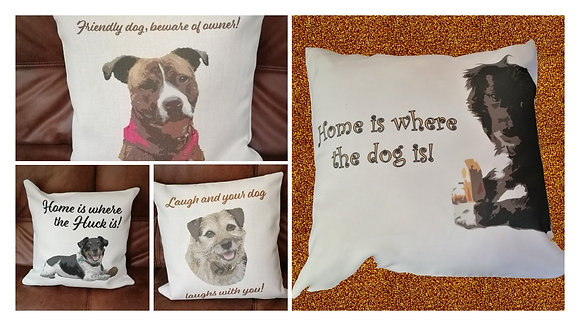Your Woof Cushion!