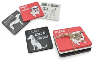Winsome Woof Coasters