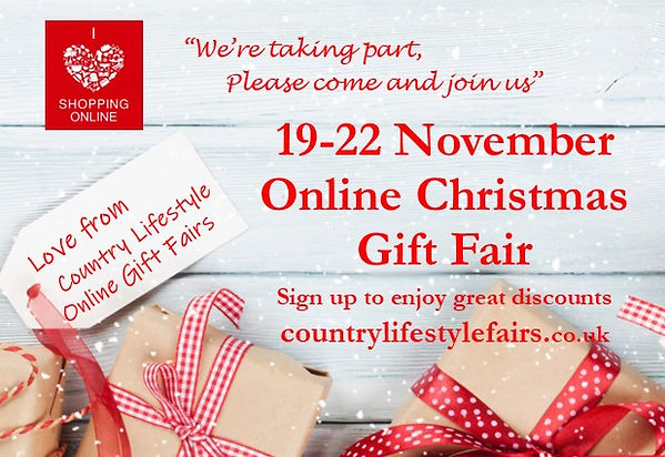 We're taking part CLF Online Xmas Gift F