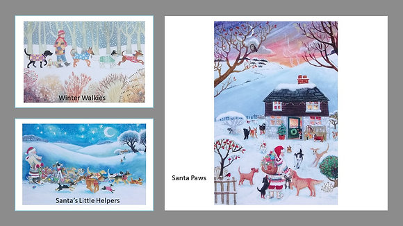 Give a Dog a Home Christmas Cards