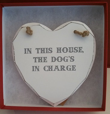 In this house ... heart plaque