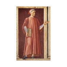 54 Dante Alighieri (dal ciclo degli Uomini e donne illustri)