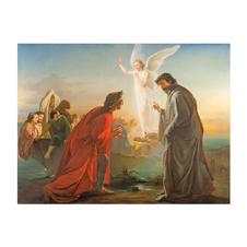 231  Dante e Virgilio nel Purgatorio
