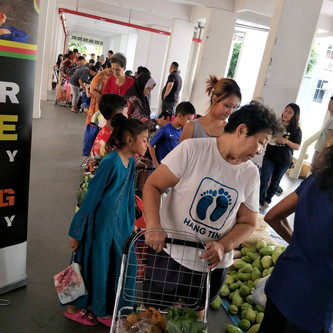 Food Distribution For Our Beneficiaries