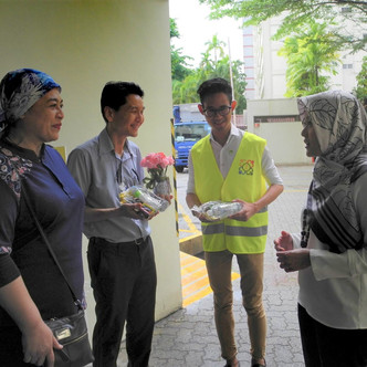 Free Food For All Collaboration with PA MESRA for Food Hampers