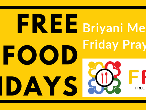 Launch of Free Food Fridays