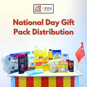 Gift Packs for Kampong Chai Chee beneficiaries & Eid Adha Lunch Meals for Migrant Workers