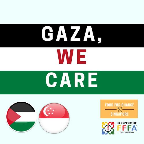 International - GAZA, We Care