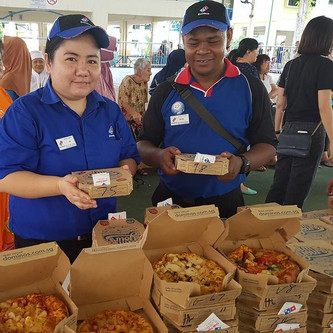 Domino's Pizzas for Beneficiaries