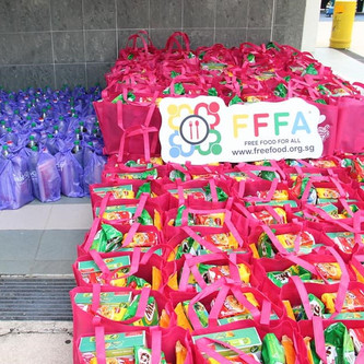 Food Distribution At Toa Payoh