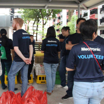 Medtronic Volunteers at Lengkok Bahru
