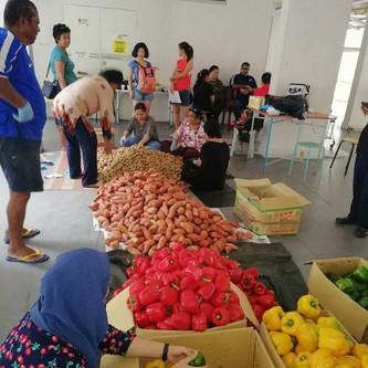 Food Redistribution at Toa Payoh and Ang Mo Kio