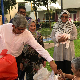 Special Visit By Dr Yaacob Ibrahim