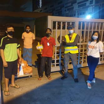 Hari Raya Puasa Food Distribution for Migrant Workers