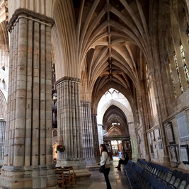Medieval Cathedral  somewhere in UK