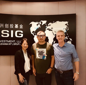 Coco & Kevin at SIG Asia Investment in Shanghai