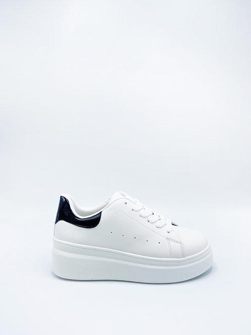 Ceruleo sneakers con zeppa