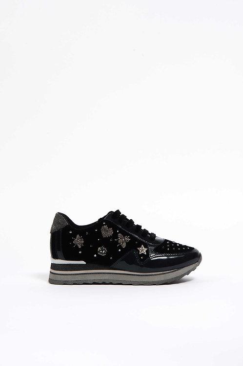 Laura Biagiotti sneakers con zeppa