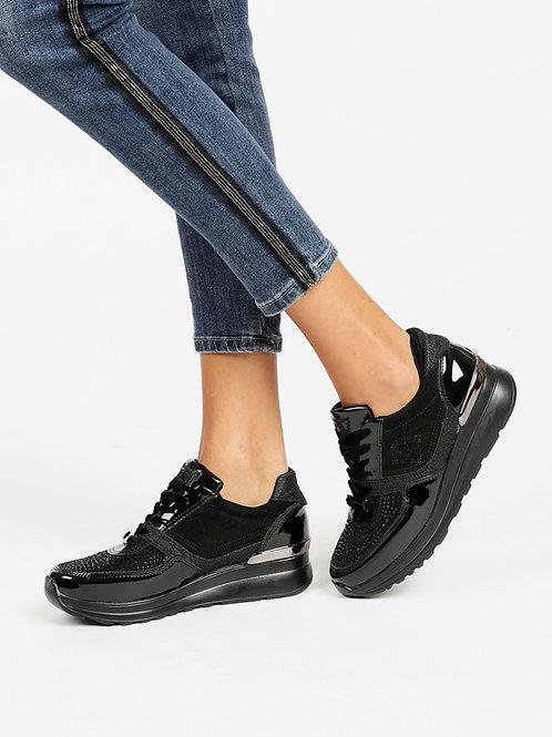 Laura Biagiotti sneakers con zeppa 5067
