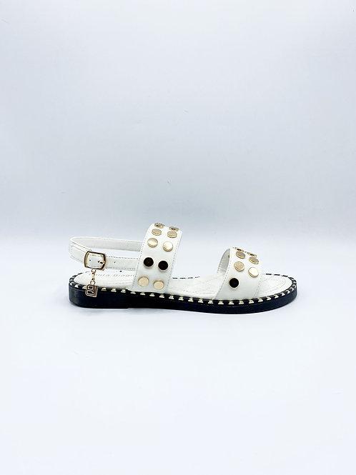 Sandalo con borchie Laura Biagiotti