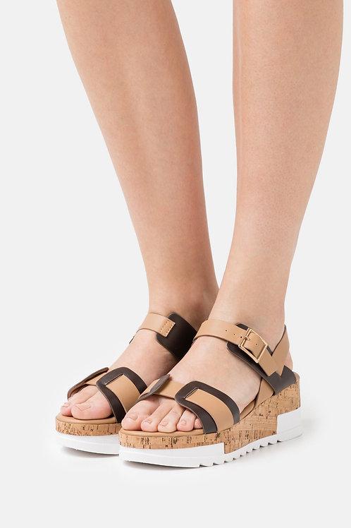 Laura Biagiotti sandalo con plateau