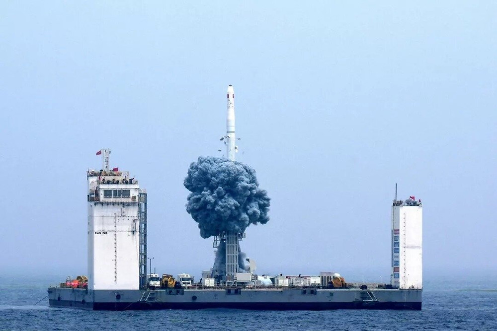 Lançamento de foguete Longa Marcha