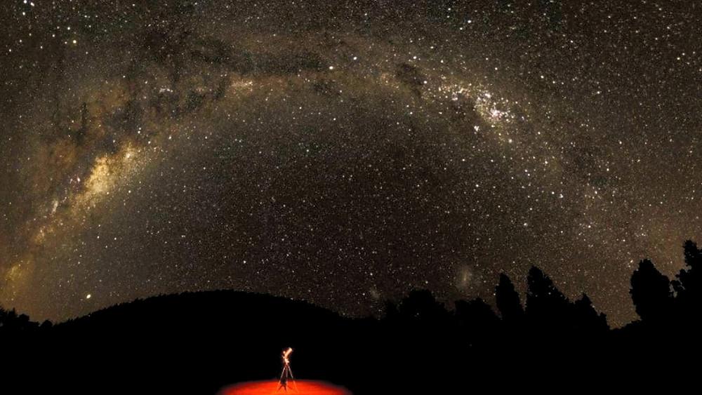 Céu na reserva Wai-Iti