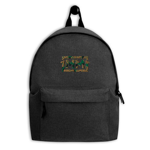1MM Camo Embroidered Backpack