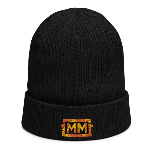 1MM Wave Ribbed Beanie