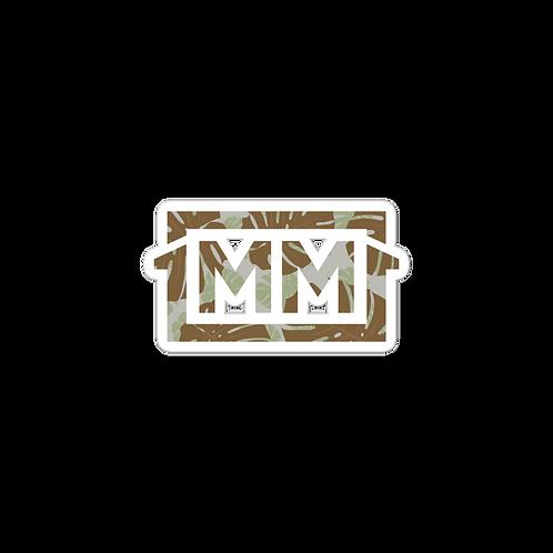 1MM Camo-leaf Bubble-free stickers