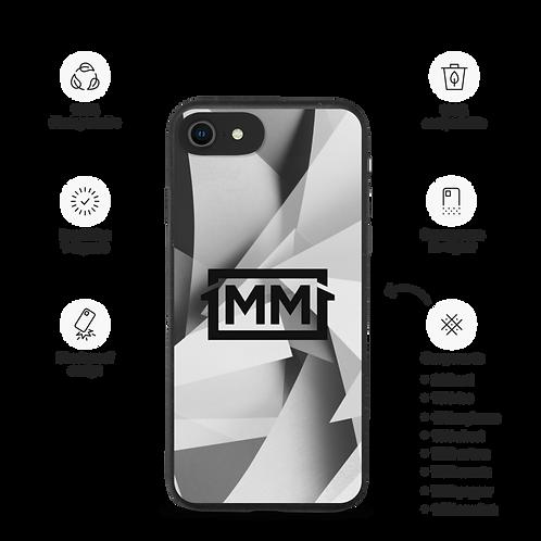 1MM Black Marble Biodegradable phone case