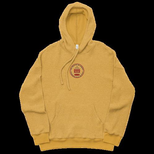 1MM Emblem Sueded Fleece Hoodie