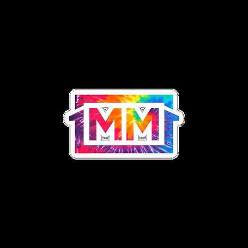 1MM Tye Die Bubble-free stickers