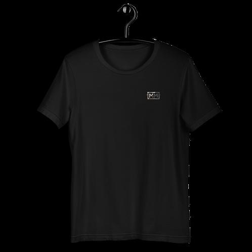 1MM Black Marble Logo Tee