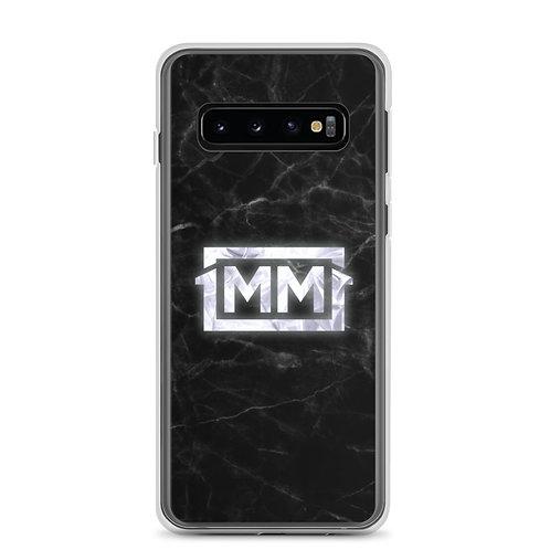 1MM Black Marble Samsung Case