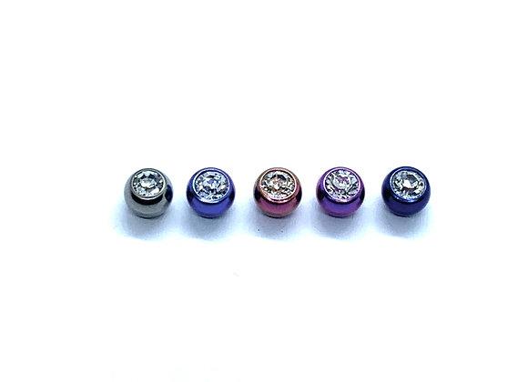14g Titanium Balls