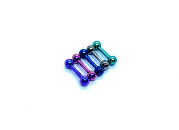 16g Titanium Barbell  6mm