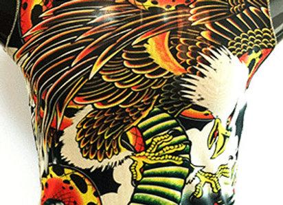 Tattoo BodySuits Sleevelss EagleSnake