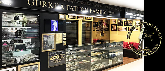 sutattoo Gurkha Tattoo Family Banner 1 .