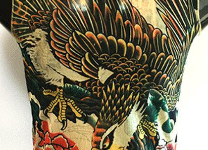 Tattoo BodySuits Sleevelss EagleLotus