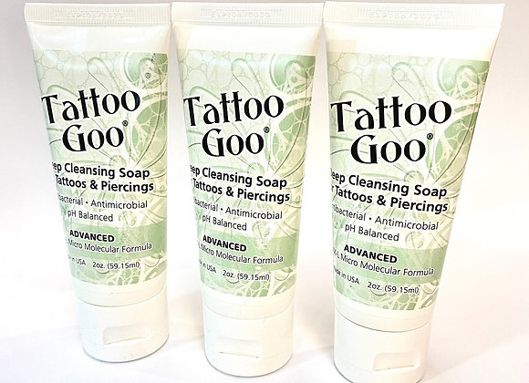 Tattoo Goo Deep Cleansing Soap.