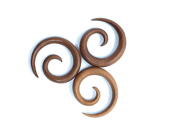Wood Spiral Brown
